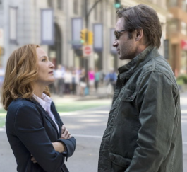 Mulder and Scully back together