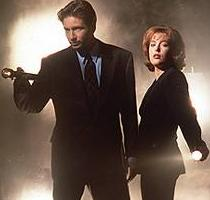 FBI Agents Mulder and Scully search for the truth