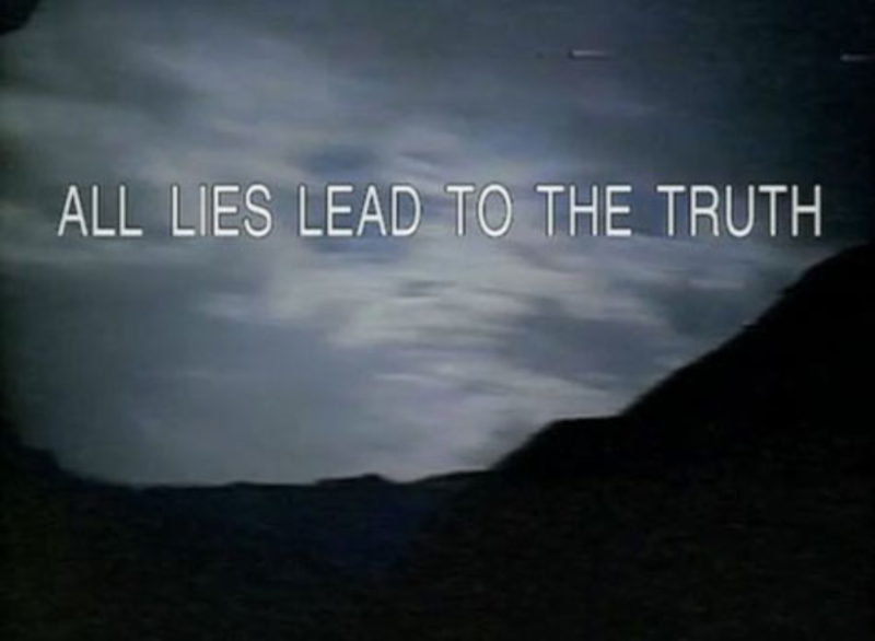 All Lies Lead to the Truth