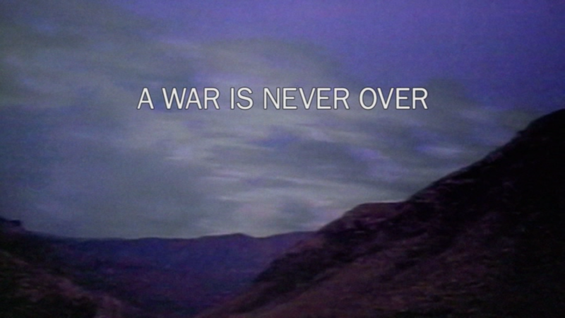 A War Is Never Over