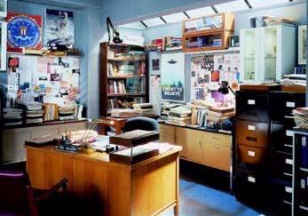 The X-files Basement Office